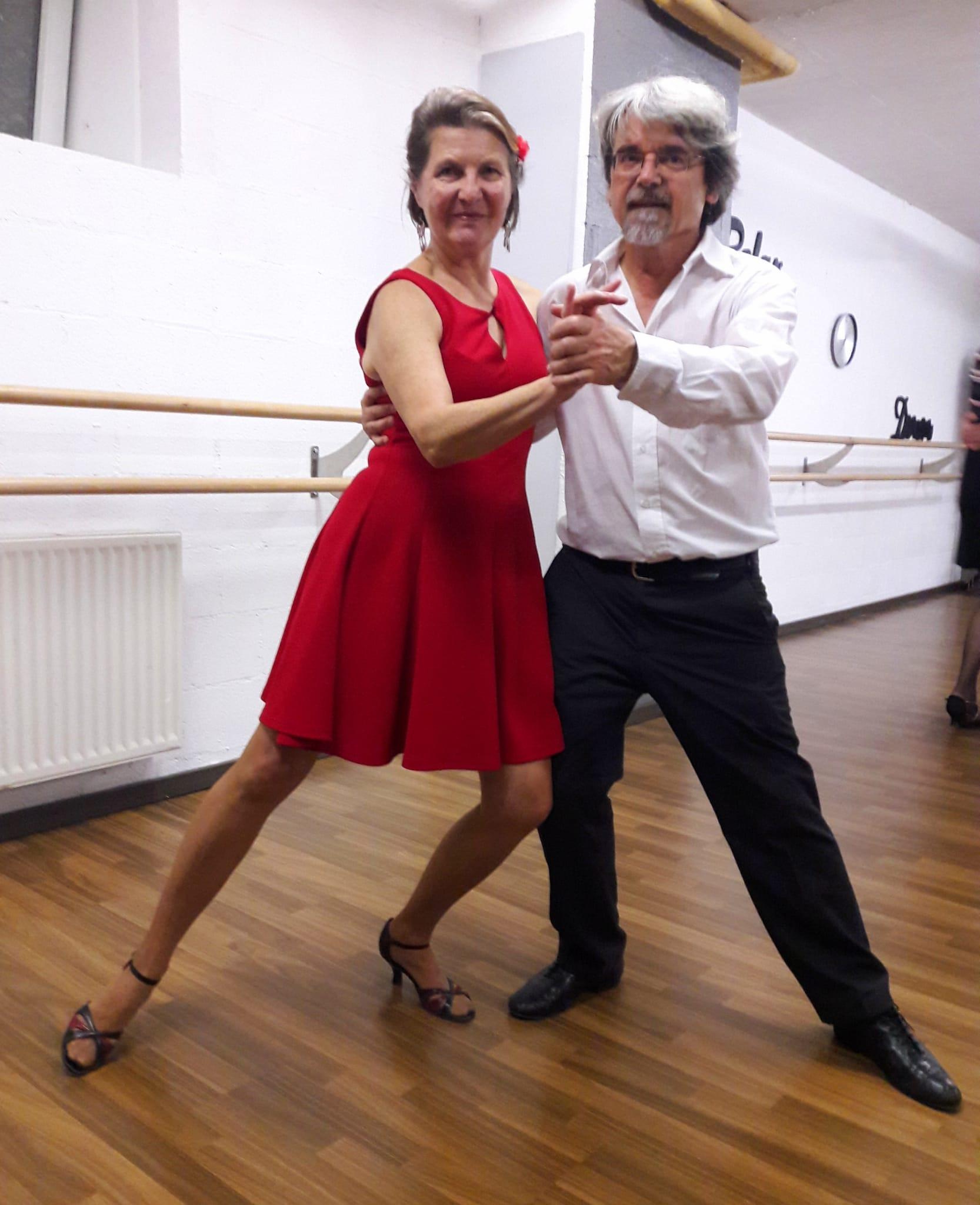 Nos maestros Sonia et Philippe